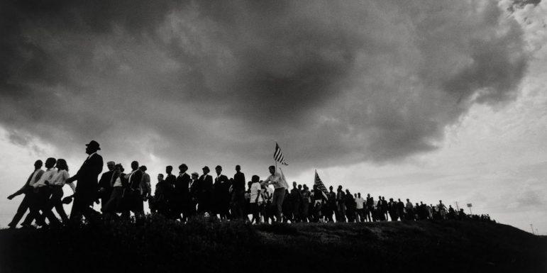 Selma Marchers Approaching Montgomery, Alabama, James H. Karales (American; 1930-2002).