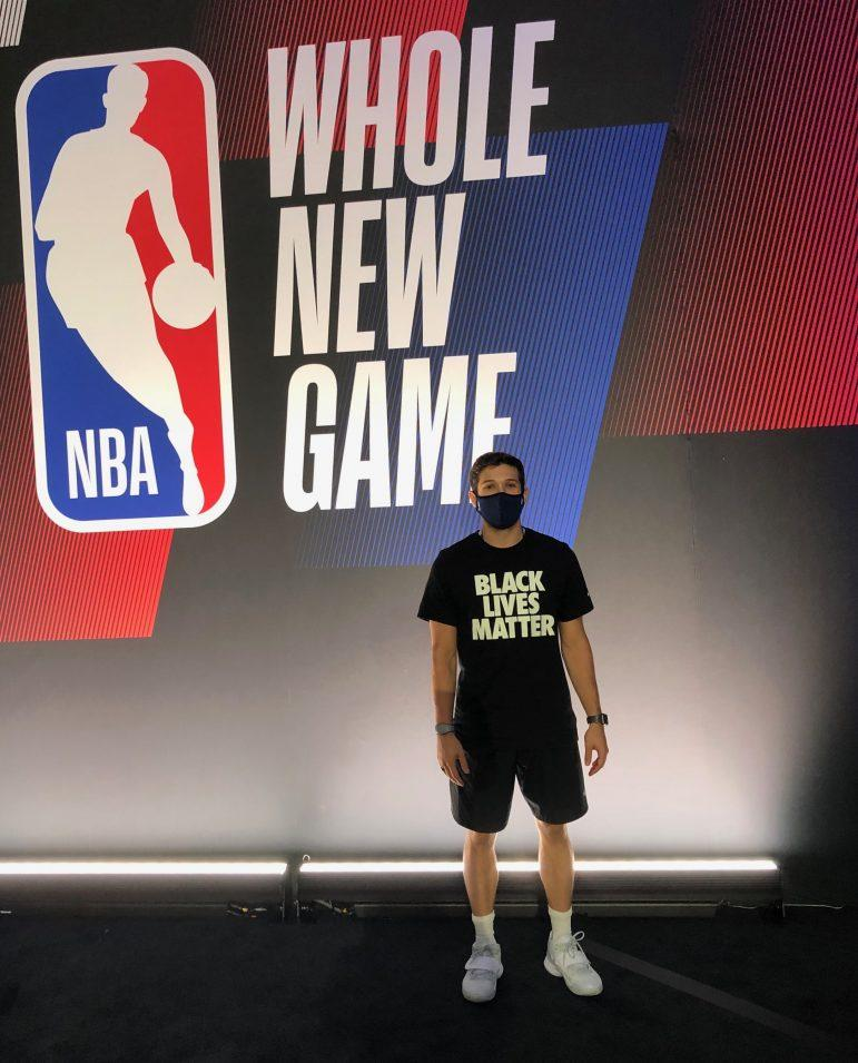 Mike Greenman '18 reflects on working inside NBA bubble