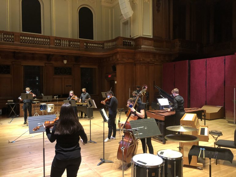 It's not during Winter Study this year: Students perform at I/O New Music Festival throughout fall semester