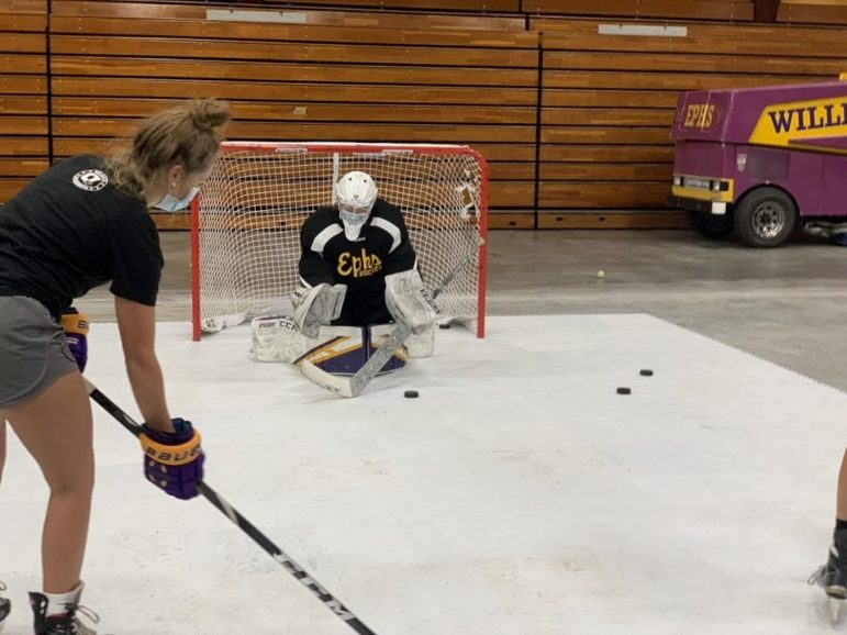 As an unusual season begins, winter athletes on and off campus start to train