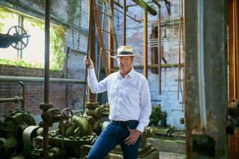 Joe Thompson, Director of MASS MoCA in North Adams, Massachusetts  	   	Photo: Megan Haley