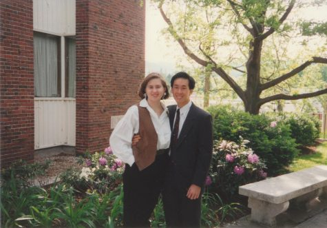Dennis Kuo '93 and Kathrine Kuo '93 argue to this day about how they first met. (Photo courtesy of Kathrine Kuo.)