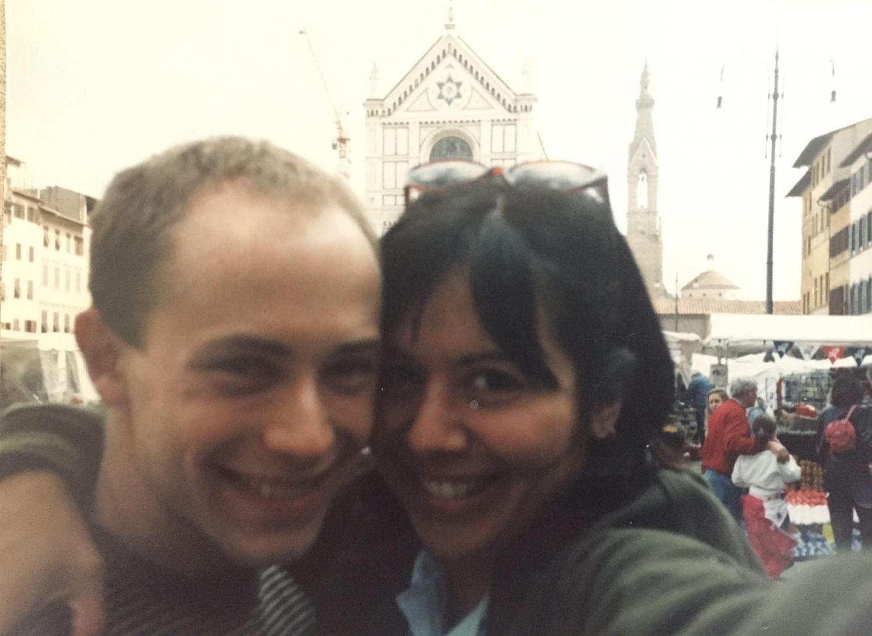 Jamie Kerman '93 and Sara Diaz '93