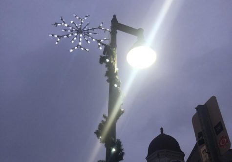 Williamstown takes first steps to remove old streetlights. (Megan Lin/The Williams Record)