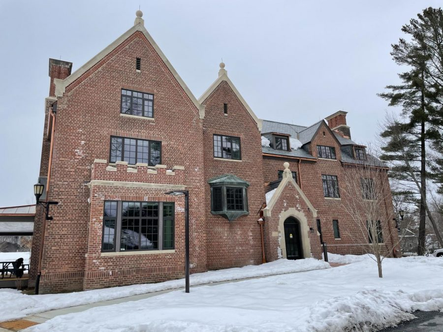Fort Bradshaw, an art history graduate student dorm, has completed renovations. (Annie Lu/The Williams Record)