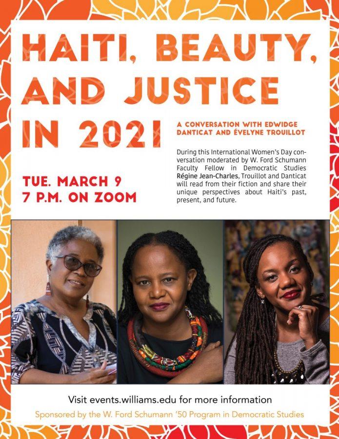 "Évelyne Trouillot and Edwidge Danticat discuss ""Haiti, Beauty, and Justice in 2021"""