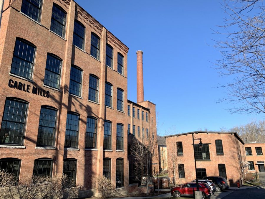 The College currently has an arrangement with Cable Mills, a former mill in Williamstown which has been converted into residential units by a private developer. however, the private developer has begun the process of selling the units as condominiums, limiting the College's housing stock. (Ethan Dinçer/The Williams Record)