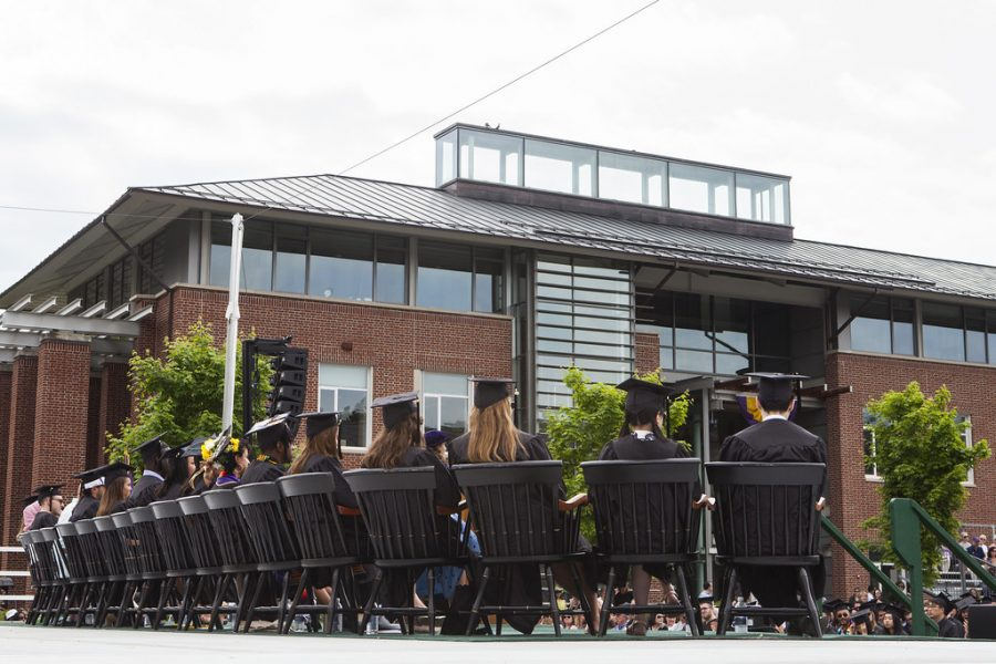 This year's Commencement will take place in-person, with each senior allowed two guests. Photo Courtesy of Williams College.