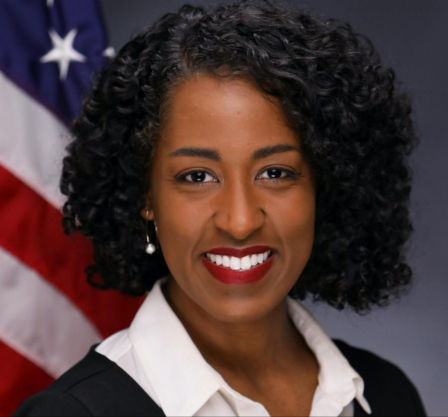 This January, Samra Brouk '08 became the first Black woman to represent upstate New York in the New York State Senate. (Photo courtesy of Samra Brouk.)