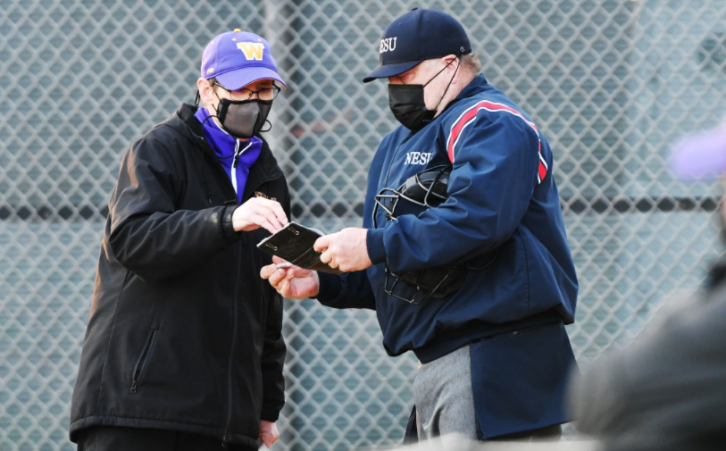 Coaches such as softball's Kris Herman are looking forward to a restricted yet long awaited spring season. (Photo Courtesy of Sports Information)