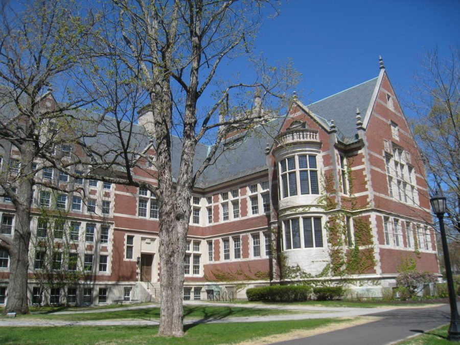 Bowdoin is one of dozens of colleges across the country that has announced students will be required to be vaccinated for the fall. (Photo Courtesy of Daderot/Wikimedia Commons.)