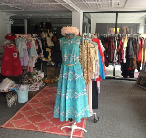 Buxbaum's collection features all types of clothing from different decades gathered over her many years of collecting vintage. (Photo courtesy of Paula Buxbaum.)