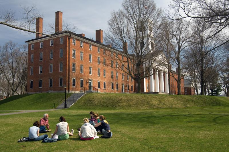 Amherst's COVID regulations are among the strictest in the NESCAC.  (Photo courtesy of Wikimedia Commons.)