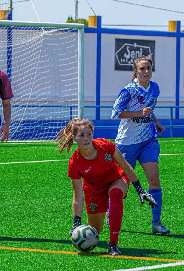 Olivia Dabinett '25 spent her gap year playing soccer in Spain. (Photo courtesy of Olivia Dabinett).