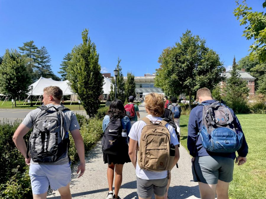 College embarks on fully in-person semester, but not without hiccups