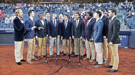 For fourth year, Octet takes the field at Yankee Stadium