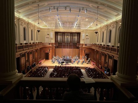 The Berkshire Symphony Orchestra performed in person for the first time since the start of the pandemic. (Katie Jung/The Williams Record)